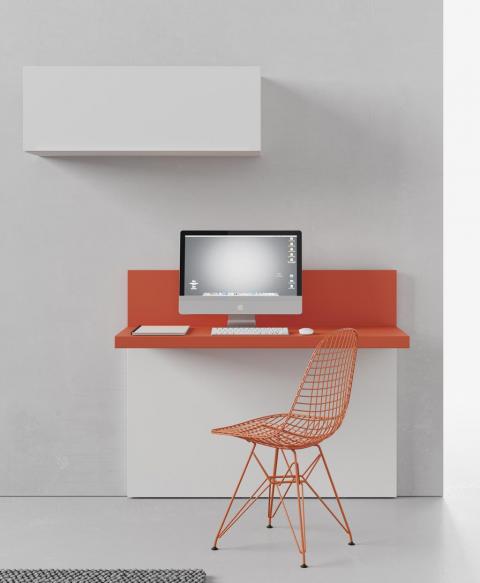 Mesa estudio minimalista colgada CUBIST
