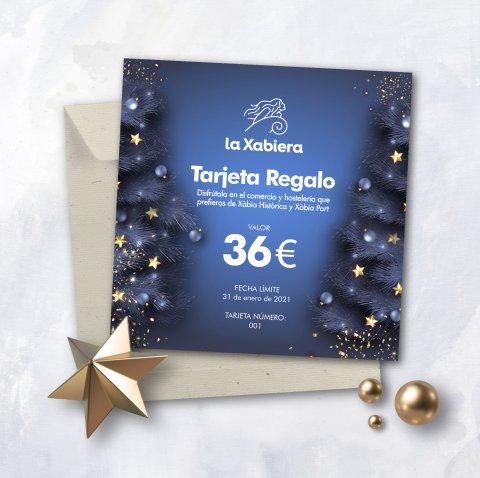Tarjeta regalo 36 €