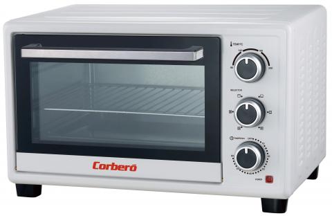 Mini horno Corbero  CHS260WCL Blanco 26L 1500W
