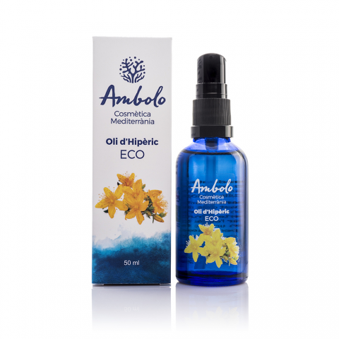 Oli d'Hipèric ecològic 50 ml. Regenera la pell.