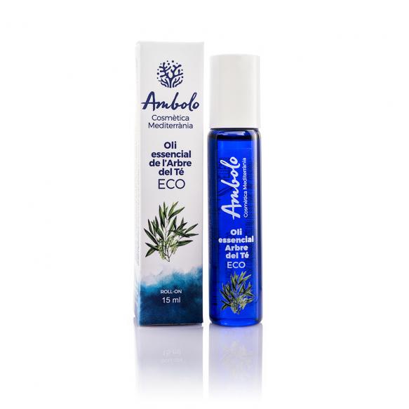 Oli essencial de l'arbre del té ecològic roll-on 15 ml. Imprescindible per a qualsevol moment.
