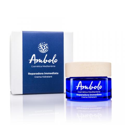 Crema hidratant reparadora immediata 50 ml. Hidrata i repara les pells més castigades.