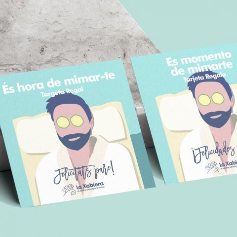 Tarjeta con 15€ de regalo para el Día del Padre - Comercios de belleza y salud - Entrega en 24/48 horas
