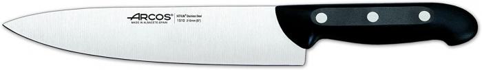 Juego cuchillos ARCOS en taco de Madera