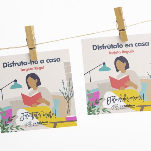 Tarjeta con 15€ de regalo para el Día de la Madre - Comercios de hogar, libros, gadgets - Entrega en 24/48 horas