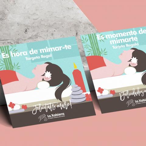 Tarjeta con 15€ de regalo para el Día del Madre - Comercios de belleza y salud - Entrega en 24/48 horas