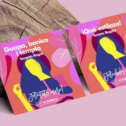 Tarjeta con 15€ de regalo para el Día de la Madre - Comercios de moda - Entrega en 24/48 horas