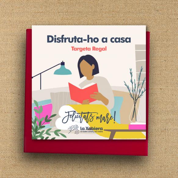 Tarjeta con 10€ de regalo para el Día de la Madre - Comercios de hogar, libros, gadgets - Entrega en 24/48 horas