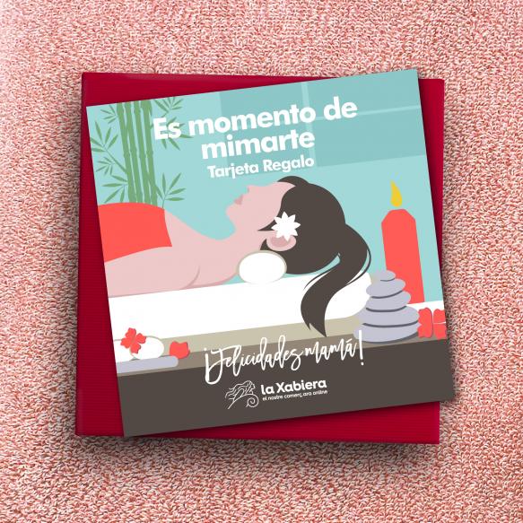 Tarjeta con 10€ de regalo para el Día del Madre - Comercios de belleza y salud - Entrega en 24/48 horas