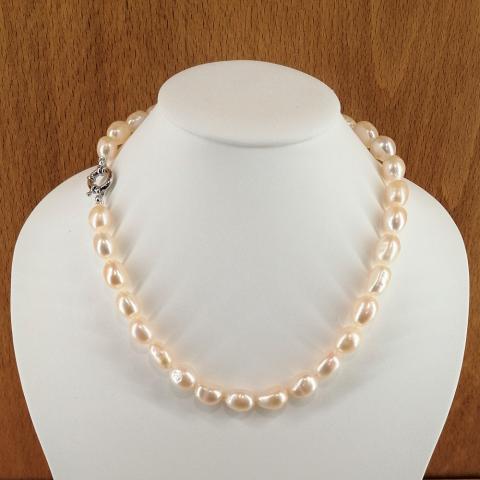 Collar de perlas cultivadas barrocas de 10-13 mm