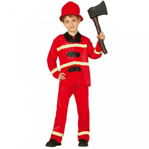 Disfraz de niño de bombero