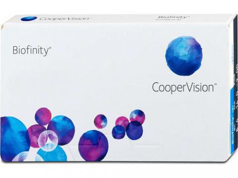 Pack de 6 meses de lentillas Biofinity + líquido