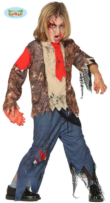Disfraz de niña de zombie
