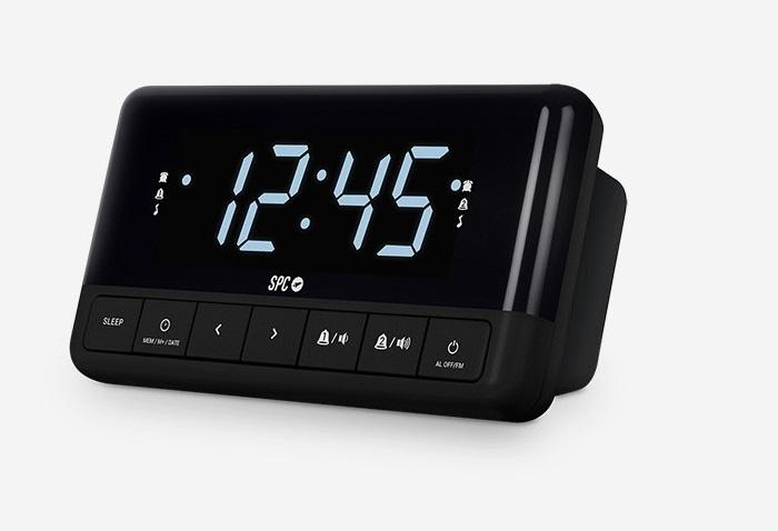 Radiodespertador reloj Grundig Sonoclock KSC35 GKR3130 BK