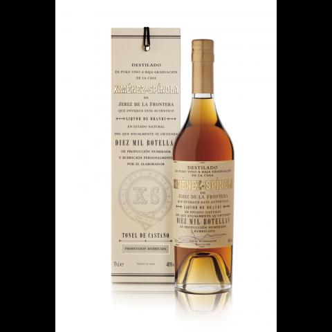 Brandy Diez mil botellas Ximénez - Spínola