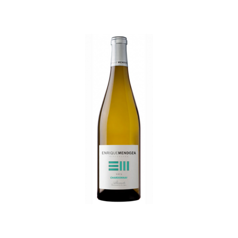 Vino blanco Chardonay Enrique Mendoza