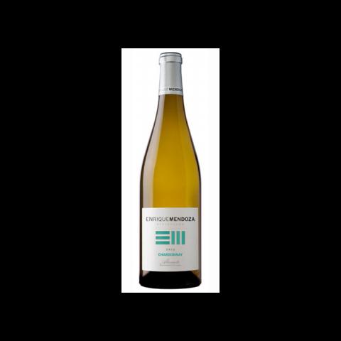 Vino blanco Chardonnay Enrique Mendoza