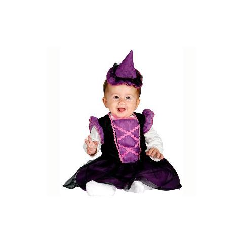 Disfraz de brujita para bebé